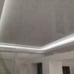светодиодные натяжные потолки с подсветкой